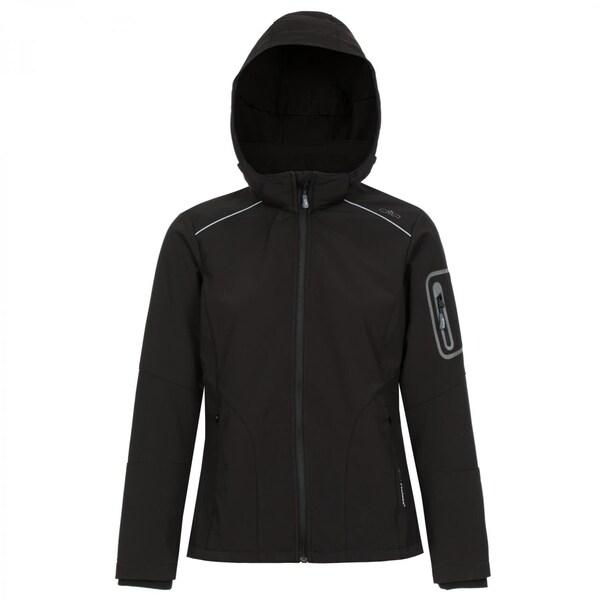 CMP Damen Softshell Jacke Zip Hood Jacket 3A05396