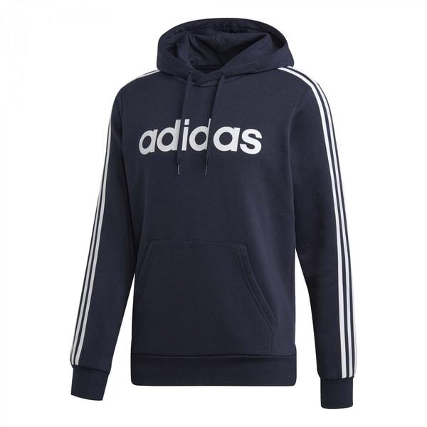 adidas Herren Kapuzenpullover Essentials 3 Stripes Fleece