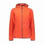 CMP Damen Fleecejacke Woman Jacket Fix Hood 38P1546