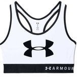 Under Armour Damen Sport BH Mid Keyhole Graphic 1344333