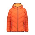 CMP Jungen Daunenjacke Boy Jacket Fix Hood 30Z1794A