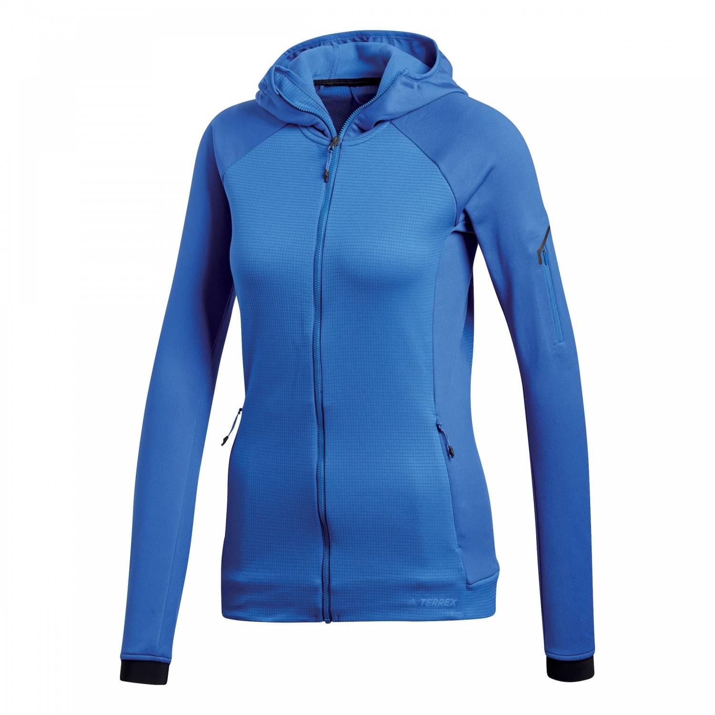 adidas TERREX Damen Fleecejacke Stockhorn Hooded Fleece Jacket