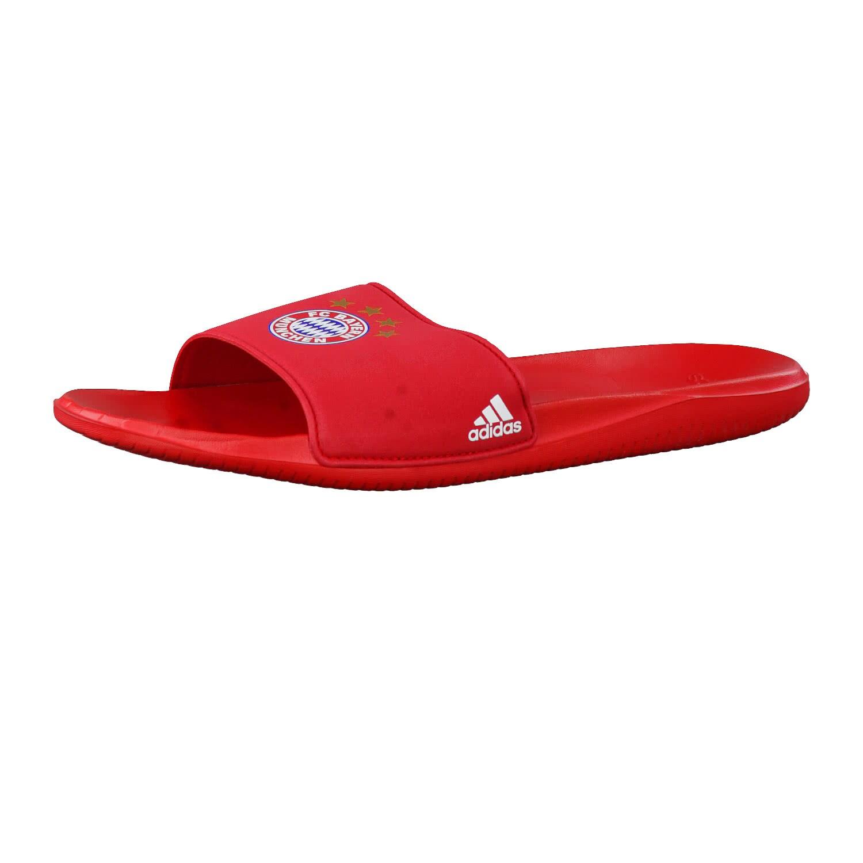 adidas Herren FC Bayern München Badeschlappen FCB Slide