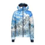 CMP Damen Skijacke Woman Jacket Fix Hood 38W1376