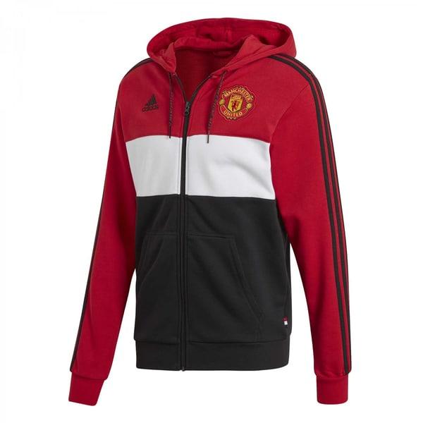 adidas Herren Manchester United Hoodie FZ