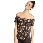 Blutsgeschwister Damen Top in love with lolita tee 001181-153