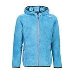 CMP Mädchen Fleecejacke Girl Jacket Fix Hood 38P1455