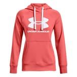 Under Armour Damen Hoodie Rival Fleece Logo 1356318