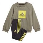 adidas Baby Jogginganzug I 3S Logo Jogger Fleece
