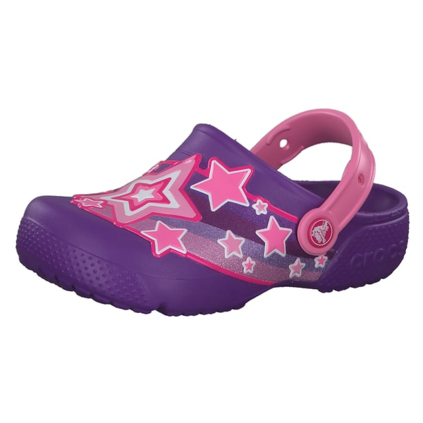 Crocs Mädchen Sandale Fun Lab Shooting Stars Clog G 205950