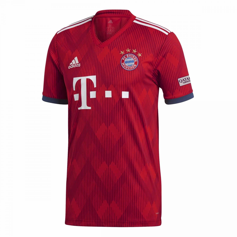 adidas Herren FC Bayern München Home Trikot 2018/19