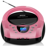 Cyberlux MP3 CD-Player USB pink
