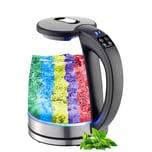 Ecosa LED Wasserkocher mit Temperaturwahl 1,8 L 2200 Watt