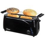 Zilan Langschlitz Toaster XXL schwarz 1400 Watt