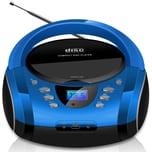 Cyberlux MP3 CD-Player USB blau