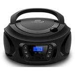Cyberlux CD-Player CD/MP3 USB schwarz