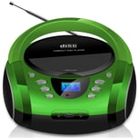 Cyberlux CD-Player CD/MP3 USB AUX IN grün
