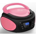 Cyberlux CD-Player CD/MP3 USB rosa