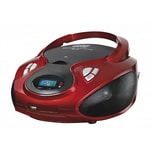 Lauson Stereo Radio CD/MP3 USB AUX IN Rot
