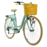 KS Cycling Cityrad 6-Gänge Cantaloupe 28 Zoll grün
