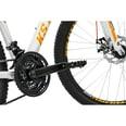 KS Cycling Mountainbike Hardtail 26'' Compound weiß-orange