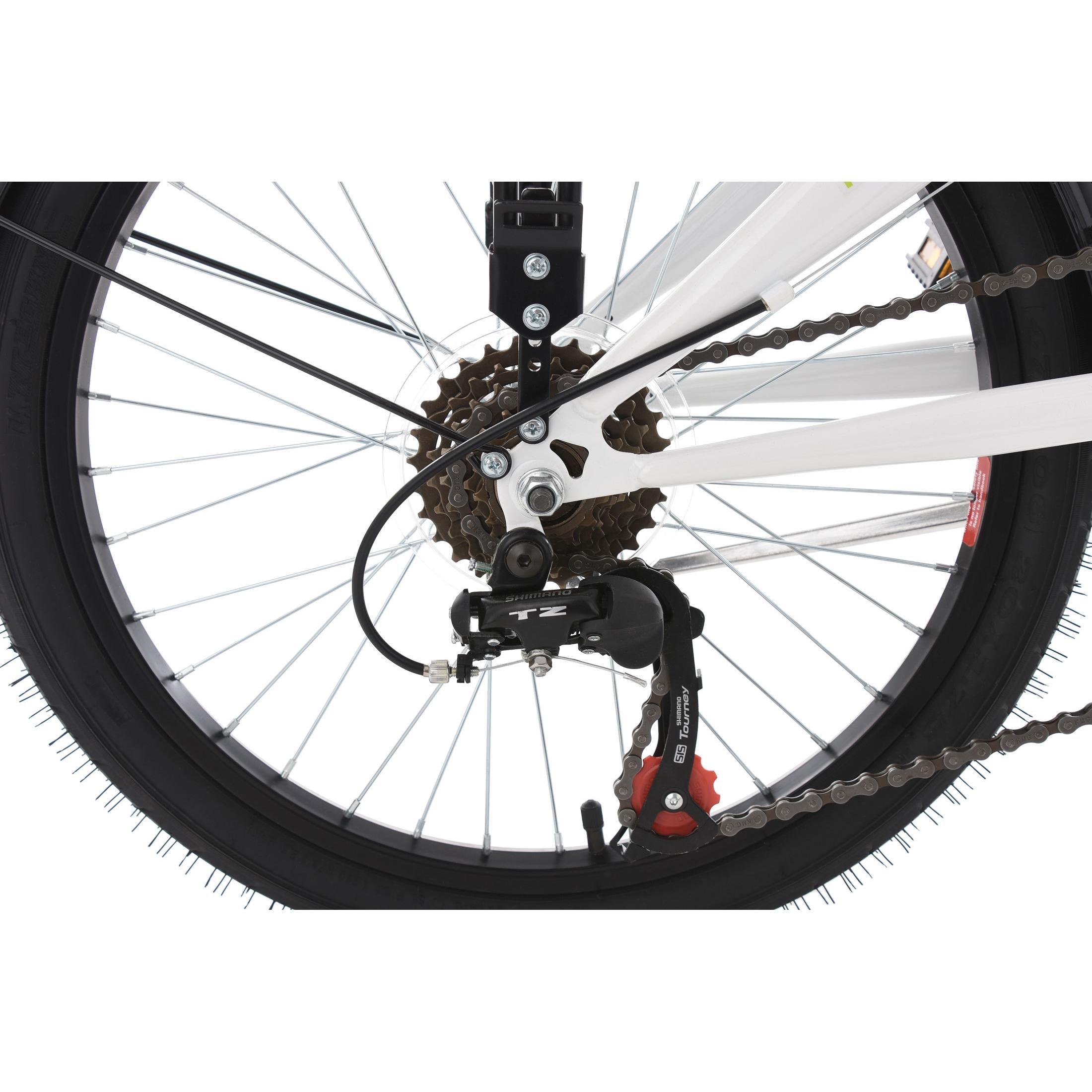 KS Cycling Faltrad Klapprad Cityfold 6 Gänge, 20 Zoll