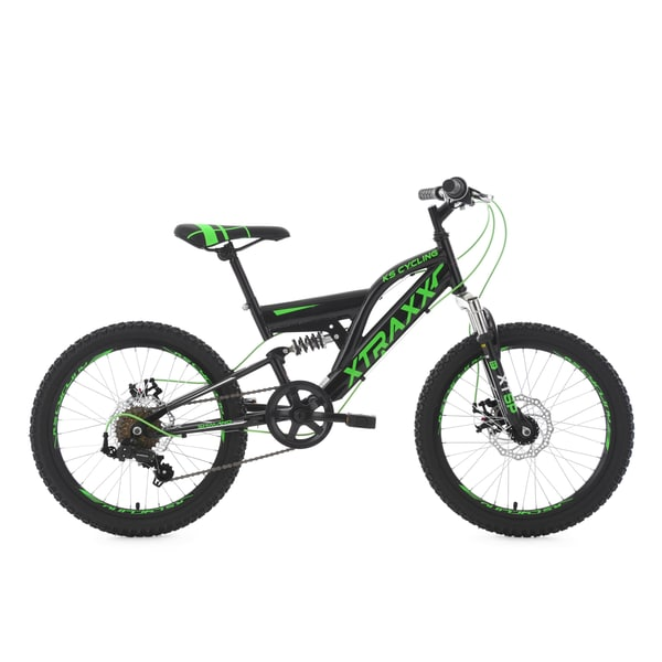 KS Cycling Kinder-Mountainbike Fully Xtraxx 20 Zoll