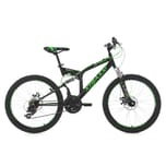 KS Cycling Kinder-Mountainbike 24 Zoll Fully Xtraxx