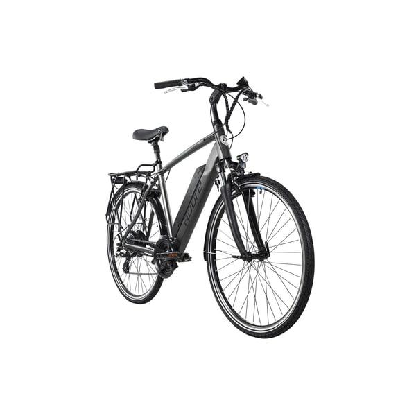 Adore Alu E-Trekking Bike 28'' Adore Ancona Grau 250W Li-Ion 36V/14 Ah/504Wh 24 Gänge
