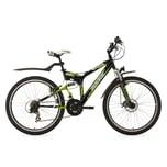 KS Cycling Mountainbike Fully Zodiac 21 Gänge 26 Zoll