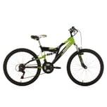 KS Cycling Kinderfahrrad Fully Zodiac RH 24 Zoll 38cm