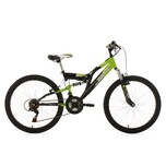 KS Cycling Kinderfahrrad Fully Zodiac 24 Zoll