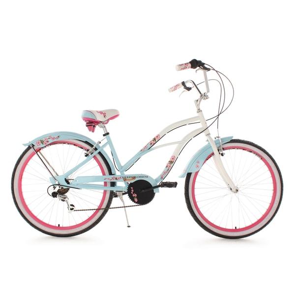 KS Cycling Beach-Cruiser 26 Zoll Cherry Blossom Blau