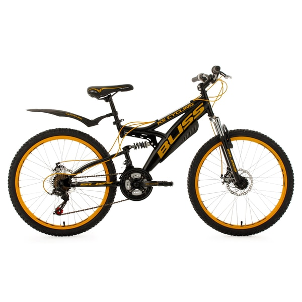 KS Cycling Jugendfahrrad Mountainbike Fully Bliss 24 Zoll