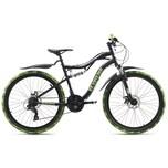 KS Cycling Fully-Mountainbike 26 Zoll Crusher 21 Gänge