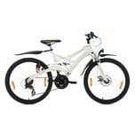 KS Cycling Jugendfahrrad Mountainbike ATB Fully 4Masters, 24 Zoll