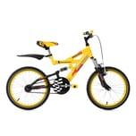 KS Cycling Fully Kinder-Mountainbike Krazy 18 Zoll