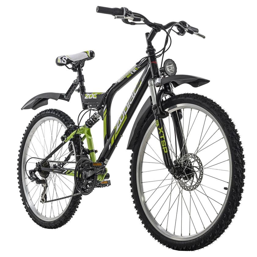 KS Cycling Mountainbike Fully ATB 21 Gänge Zodiac 26 Zoll