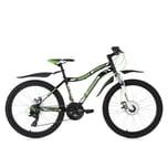 KS Cycling Kinderfahrrad MTB Hardtail Phalanx 24 Zoll