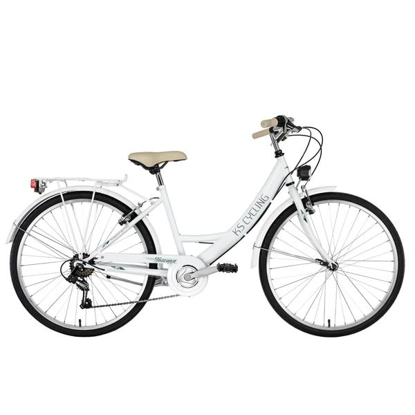 KS Cycling Damenfahrrad Cityrad 6-Gänge Toscana 26 Zoll