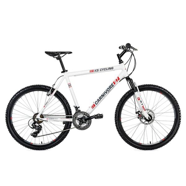 KS Cycling Hardtail Mountainbike Carnivore 26 Zoll