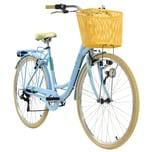 KS Cycling Cityrad 6-Gänge Cantaloupe 28 Zoll blau