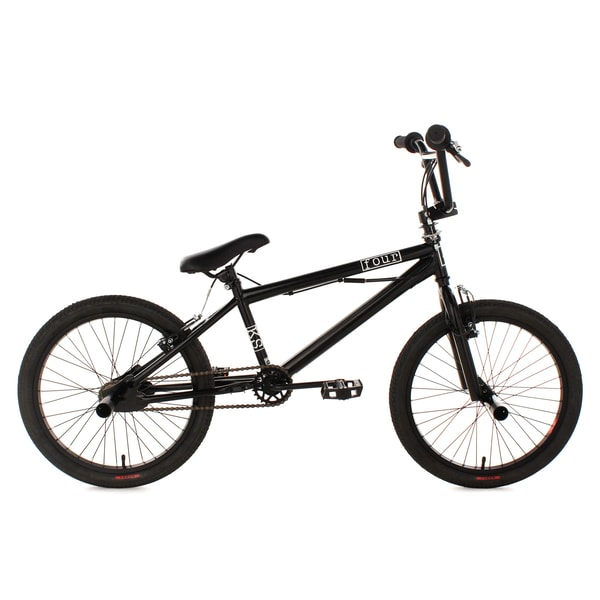 KS Cycling BMX Freestyle Four 20 Zoll