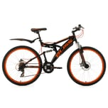 KS Cycling Fully Mountainbike Bliss 26 Zoll schwarz-orange