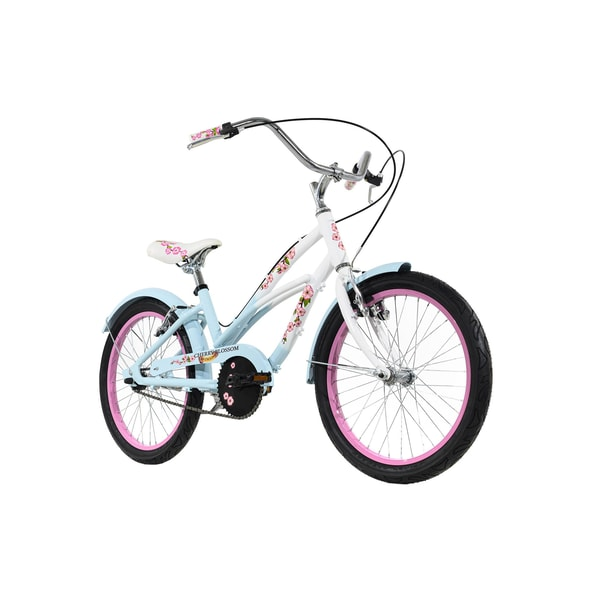 KS Cycling Kinderfahrrad Cruiser 20'' Cherry Blossom blau-rosa