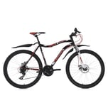 KS Cycling Fully Mountainbike Phalanx 21 Gänge, 26 Zoll