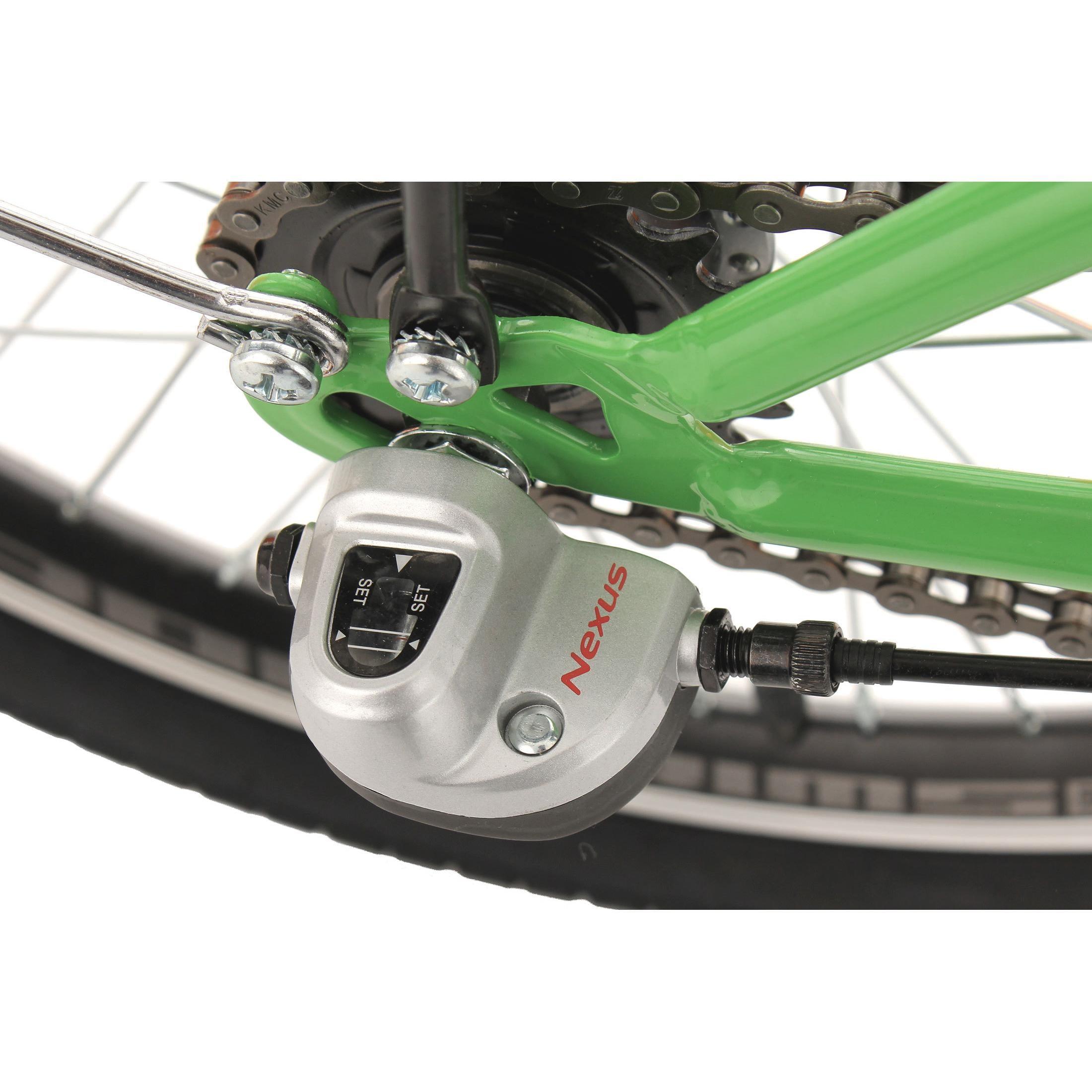 KS Cycling Faltrad Klapprad FX300 3 Gänge, 20 Zoll