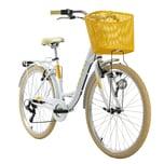 KS Cycling Cityrad 6-Gänge Cantaloupe 26 Zoll weiß