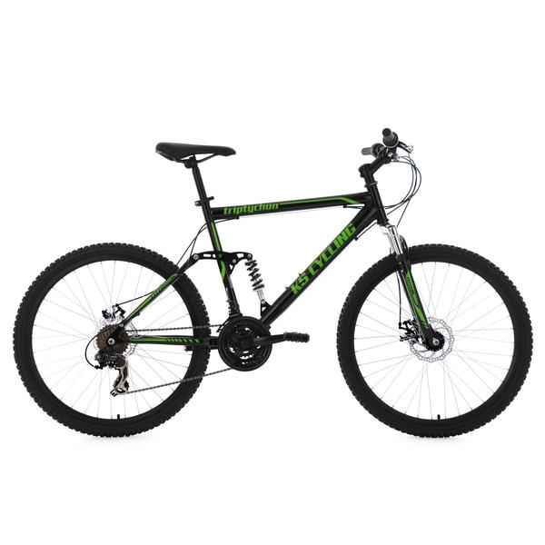 KS Cycling Mountainbike Fully Triptychon 21 Gänge, 26 Zoll
