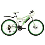KS Cycling Fully Mountainbike Bliss 26 Zoll